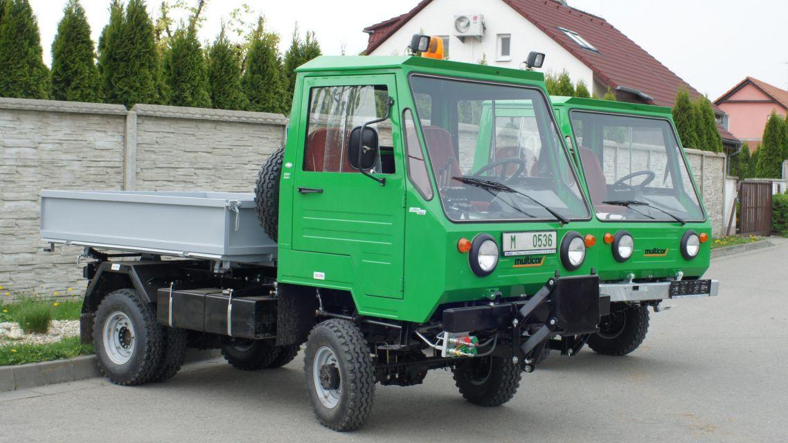Nenahraditeľný stroj - Multicar M25