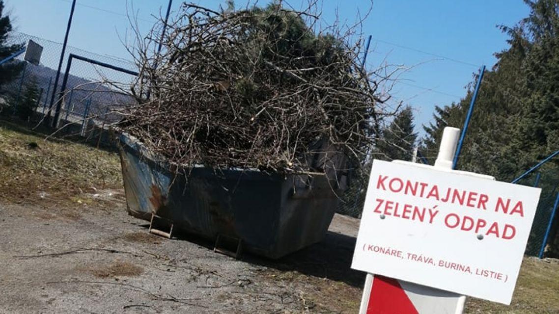 Zber zeleného odpadu - ukončený
